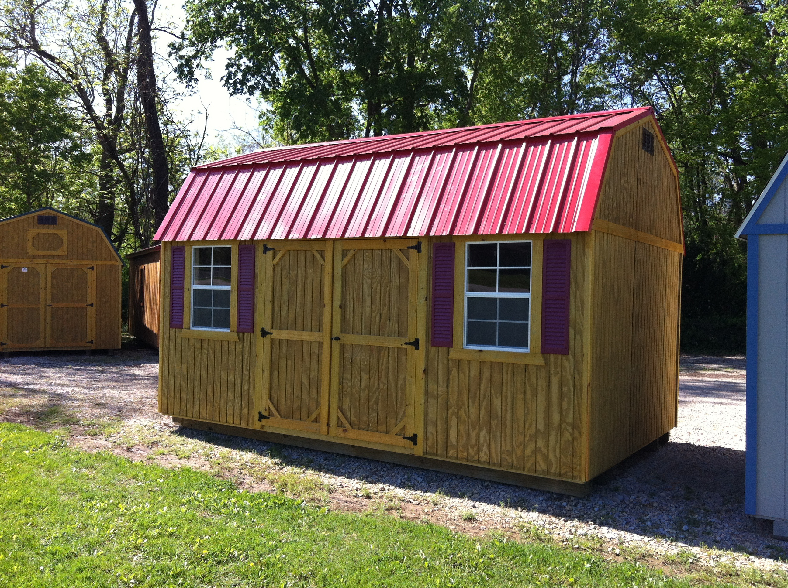 Lofted Barn A1 Portable Buildings