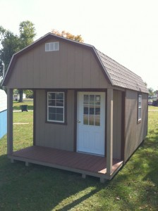 lofted barn cabin is basically the same as the cabin but has a lofted ...