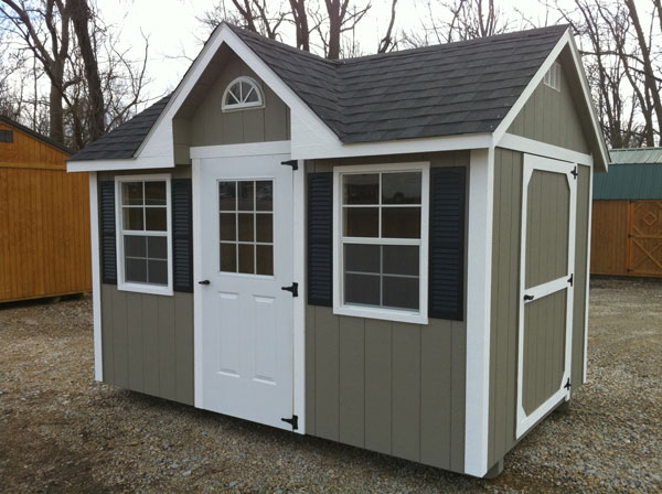Dormer a1 portable buildings for Small portable shed